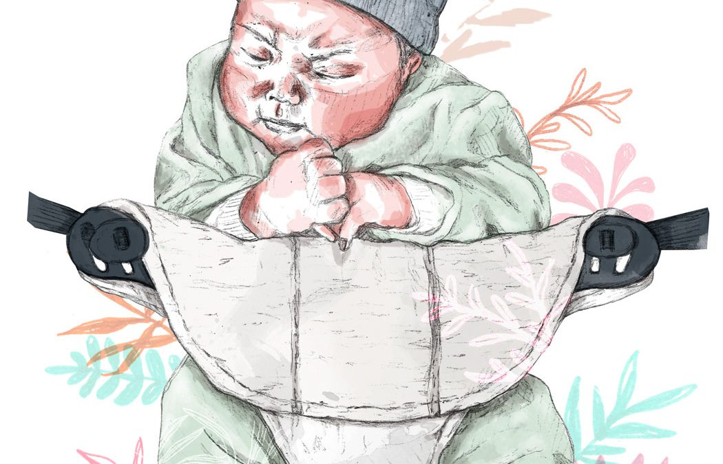 ilustración de un bebé